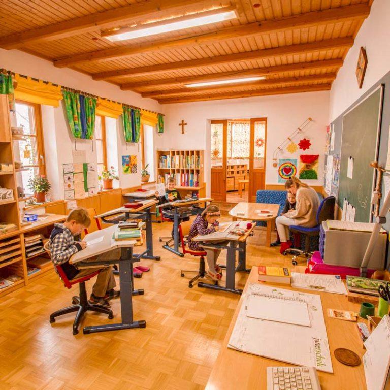 Unsere Klassenzimmer – klein, aber fein!