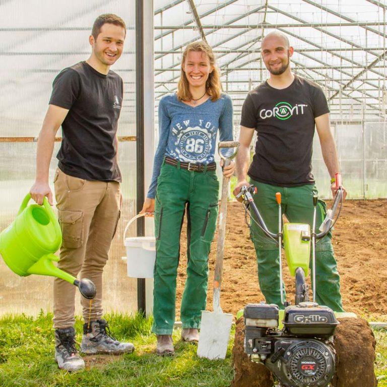 Bodenvorbereitung für die Gartensaison